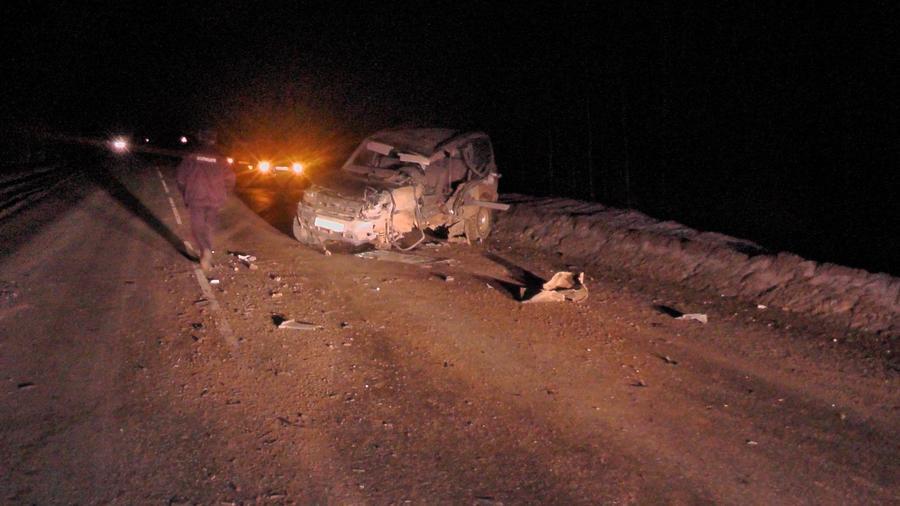 В Большесосновском районе в ДТП пострадал пьяный водитель