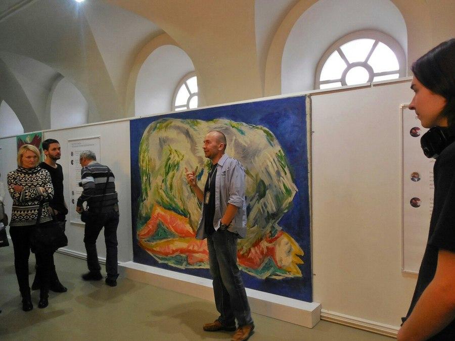Пермская галерея увлекает пермяков абстракционизмом