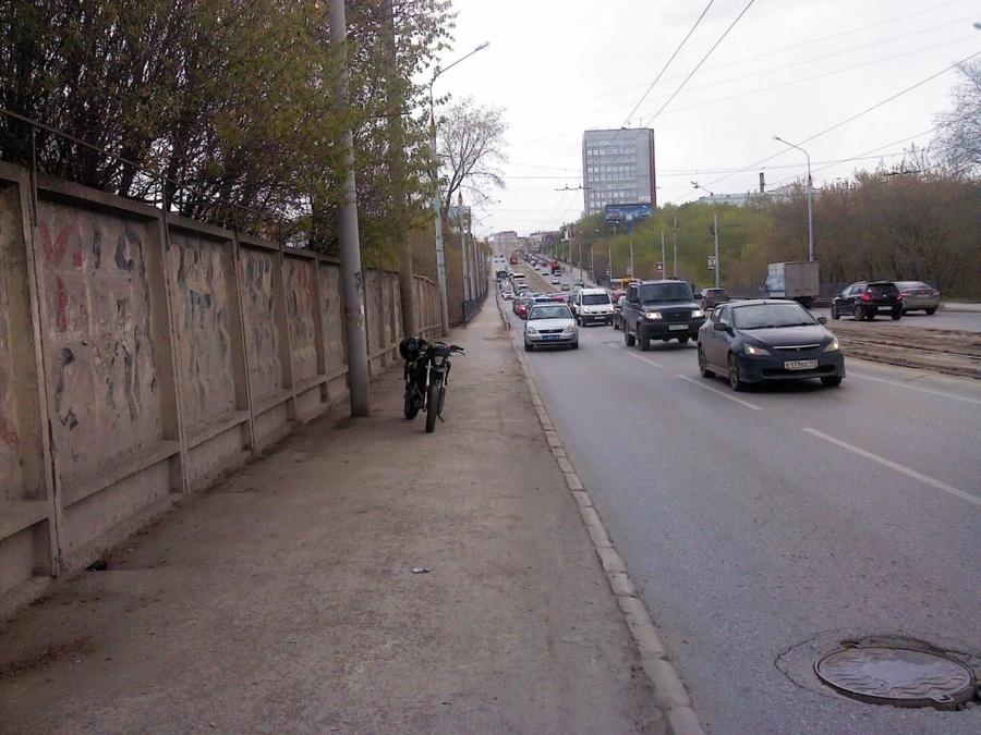 В Перми несовершеннолетний мотоциклист сбил 18-летнюю девушку - фото 1
