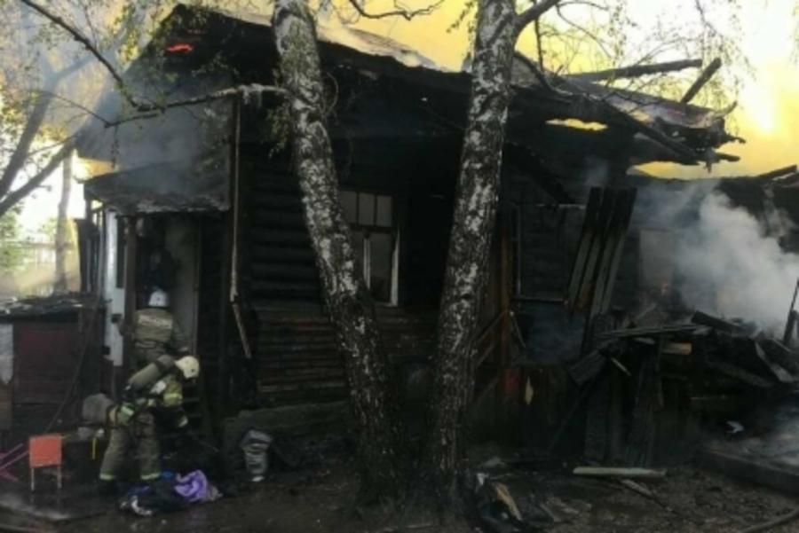 В Пермском крае на пожарах погибли три человека