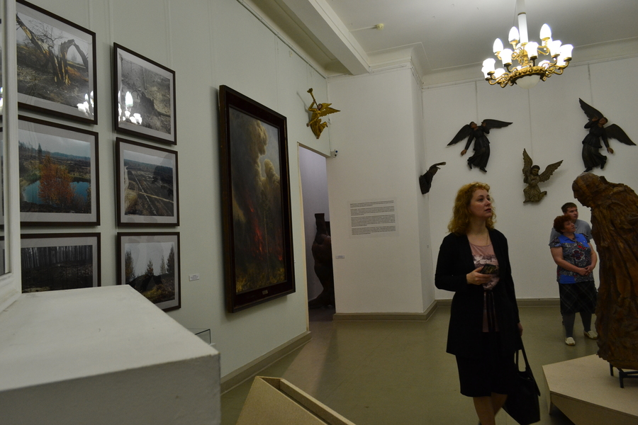 В Пермской галерее путешествуют по лесу - фото 11