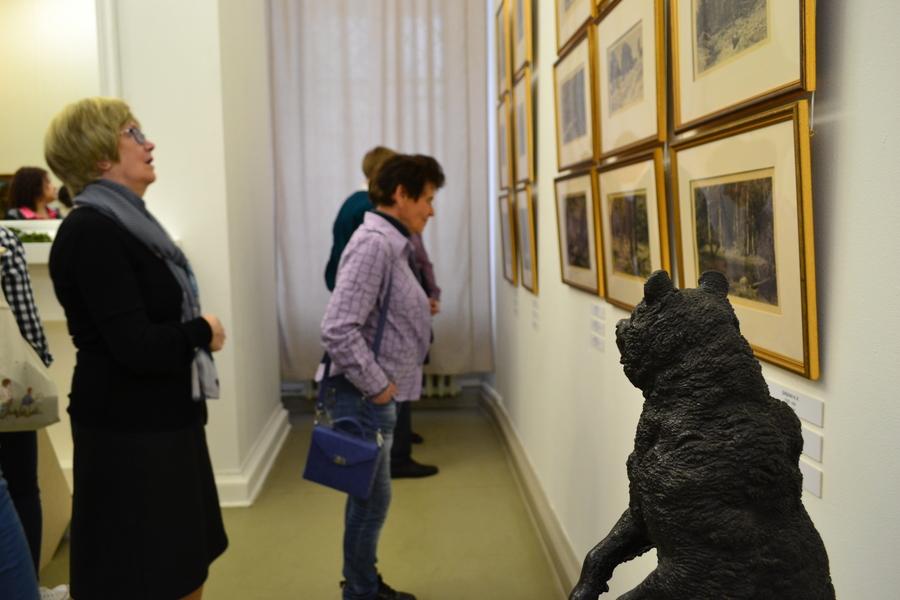 В Пермской галерее путешествуют по лесу - фото 16