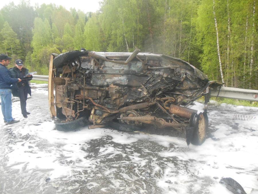 В выходные на дорогах Пермского края погибли три человека - фото 1