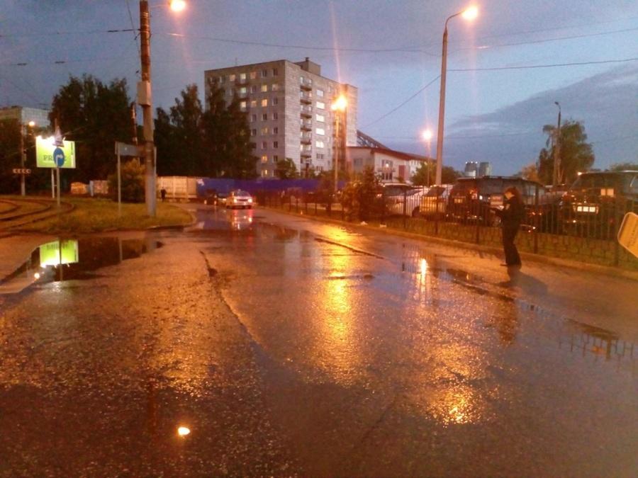 В Перми водитель ВАЗа сбил женщину и скрылся