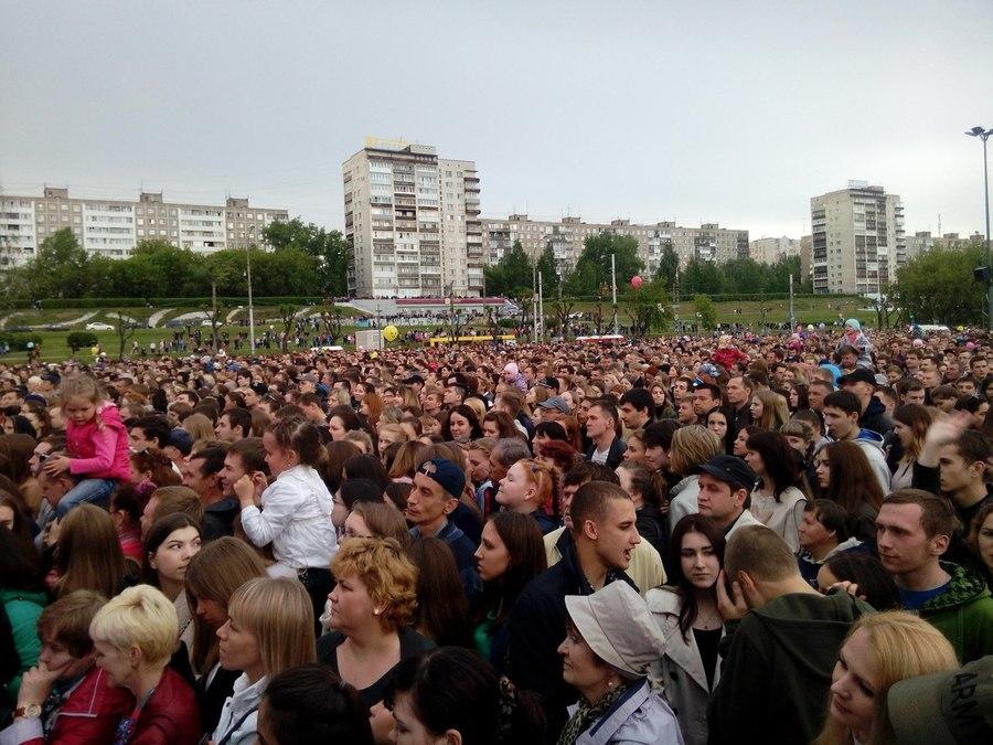 На дне города в Перми выступил Сергей Лазарев - фото 1