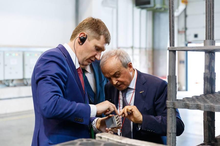 Губернатор Пермского края побывал на «Редукторе» - фото 1