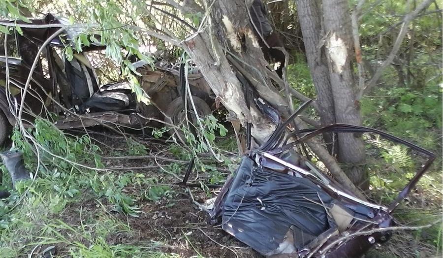 В Сивинском районе «семерка» врезалась в дерево, пассажир погиб