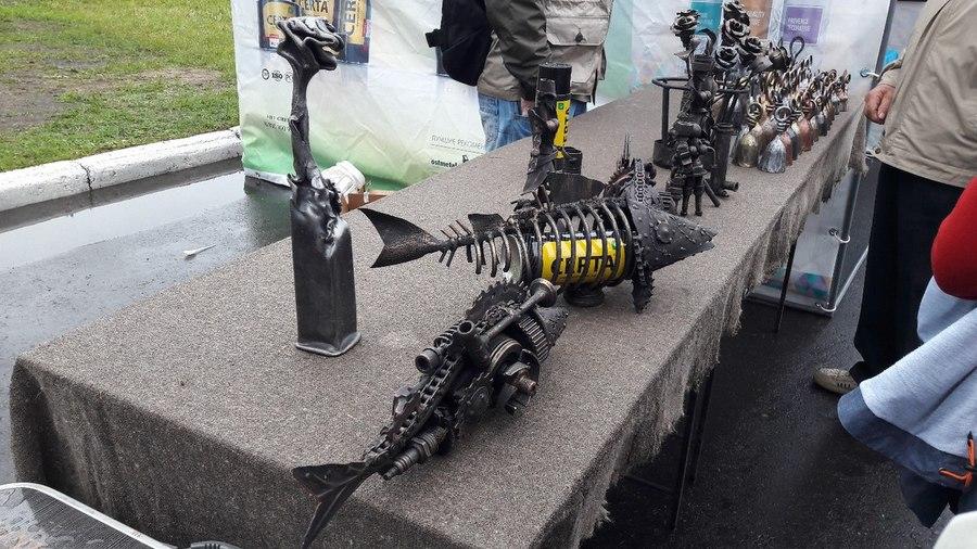 В Перми прошел фестиваль кузнечного искусства