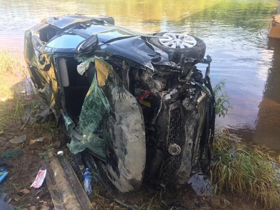 В Пермском крае пьяный водитель съехал в кювет и перевернулся