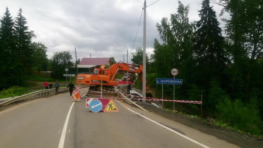 В трех районах Пермского края дожди наделали бед
