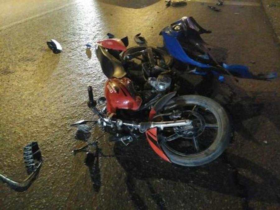 В Перми подросток на мотоцикле не предоставил автомобилю преимущество в движении