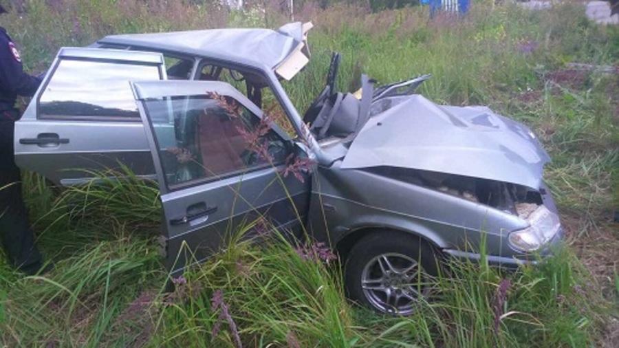 В ДТП в Бардымском районе погиб водитель ВАЗа - фото 1