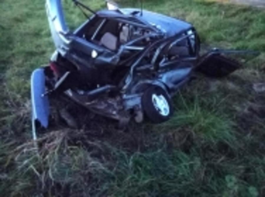 В Пермском крае водитель из Свердловской области протаранил Газель