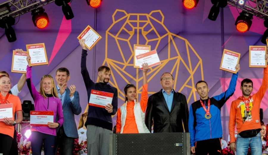 Победителями Пермского международного марафона стали москвич и пермячка