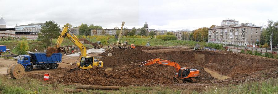 В Перми «НОВОГОР» строит резурвуар чистой воды