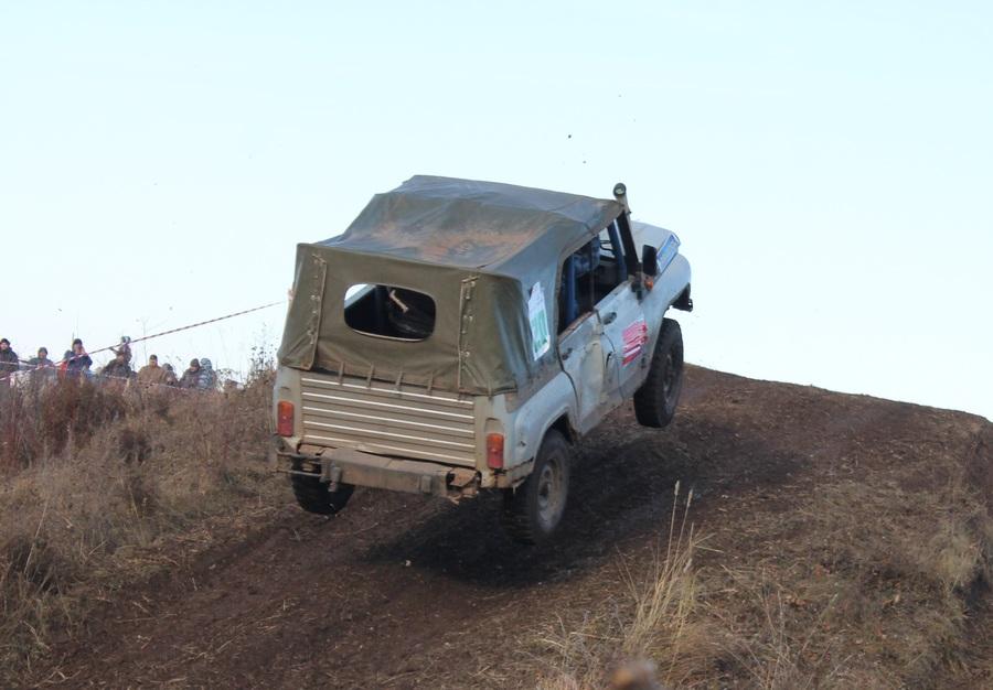 В Перми прошли гонки на внедорожниках