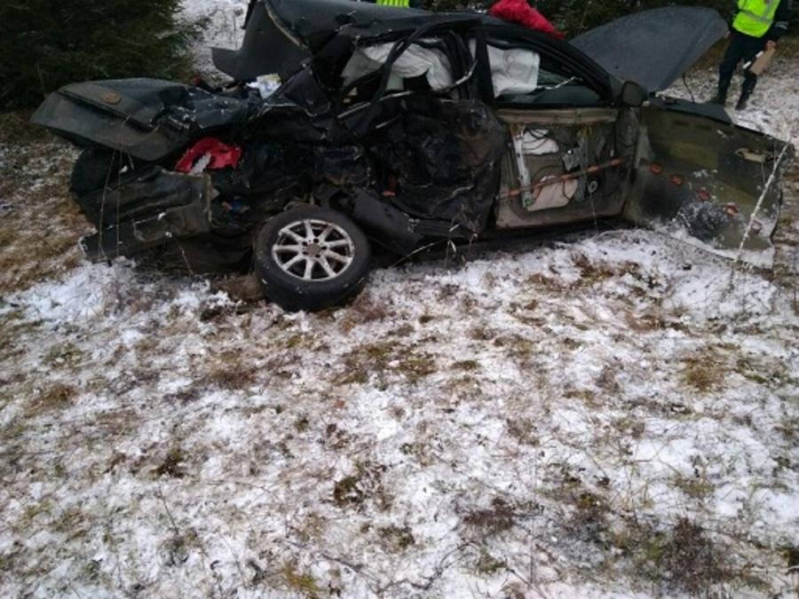 В Добрянском районе в автоаварии погибли мама и две дочери