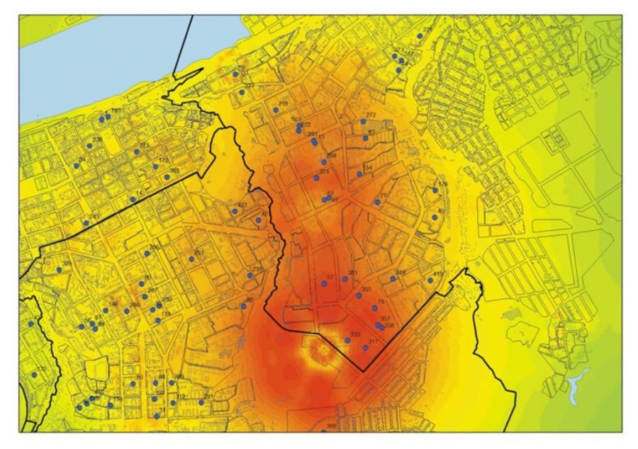 В Перми 15 тысяч человек живут в зоне электромагнитного риска