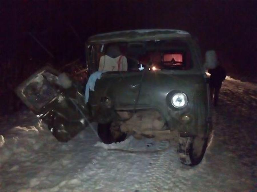 В автоаварии в Чернушинском районе пострадали четыре человека