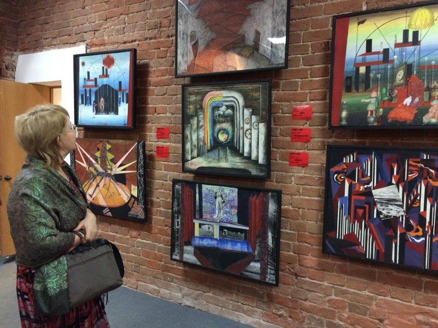 В Перми завершилась выставка знаменитого местного художника