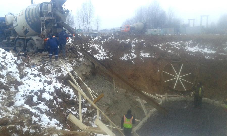 В Новых Лядах началась реконструкция очистных сооружений