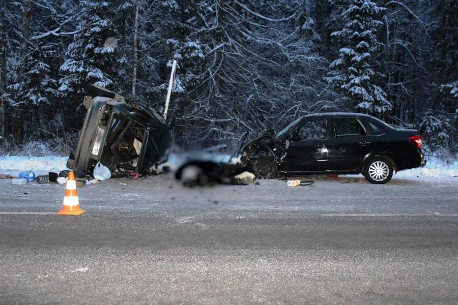 В ДТП в Очерском районе два человека погибли, трое ранены - фото 1
