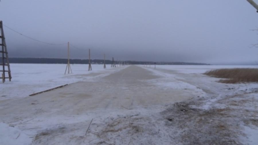 В Пермском крае открыта вторая ледовая переправа