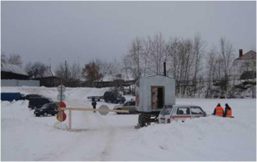 В Пермском крае открыта третья ледовая переправа