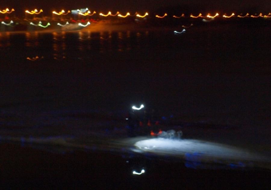 В Перми на Каме с оторвавшейся льдины спасены два рыбака