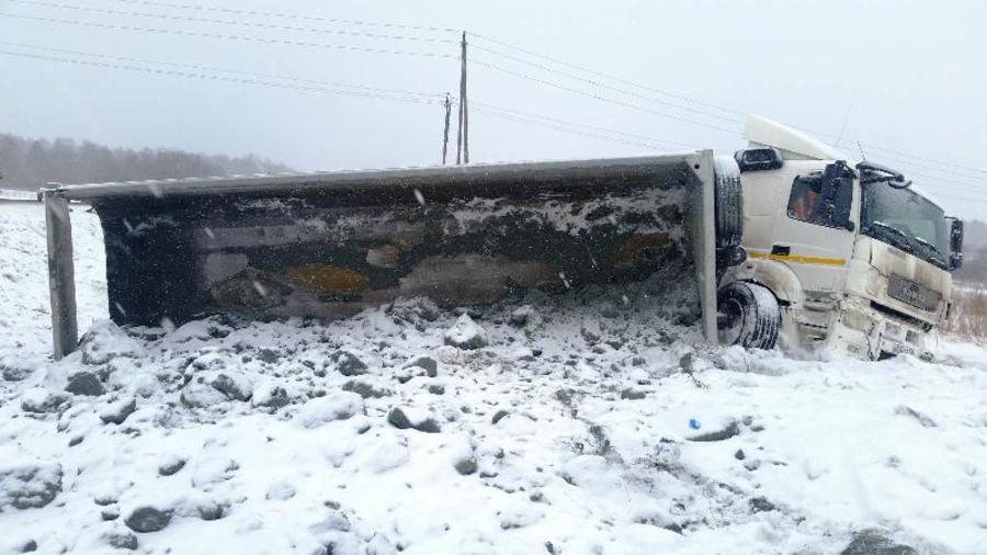 В Пермском районе две женщины погибли в столкновении Логана и КАМАЗа