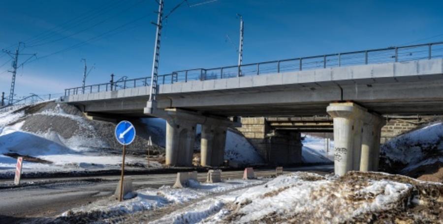 29 апреля поезда в районе Липовой горы начнут ходить по новому путепроводу