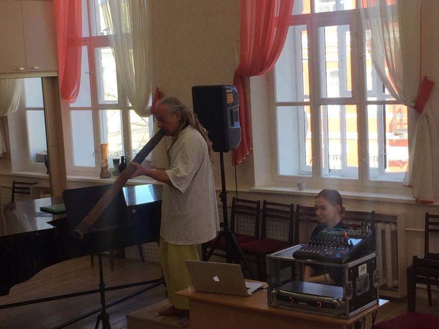 «Золотая Туба» Европы босиком приехала в Пермь