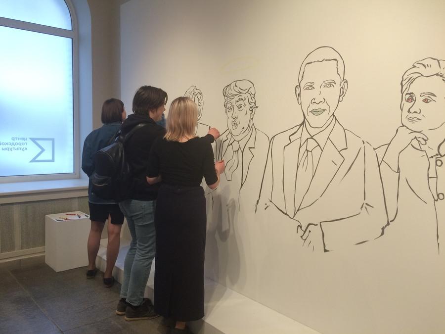 В Перми открылась выставка визуальных образов политиков