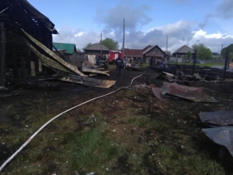 В Пермском крае на пожаре погибли три человека