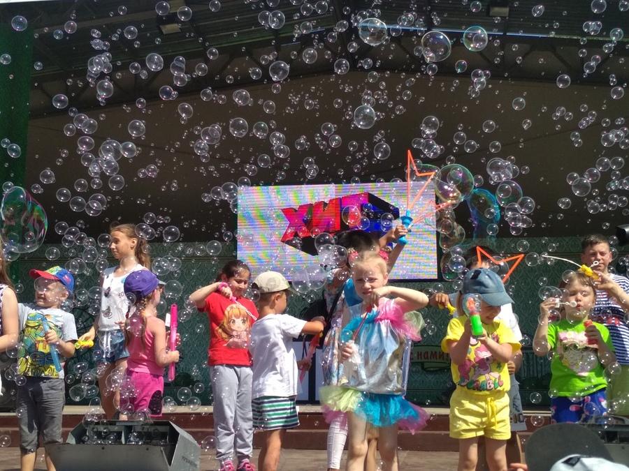 В Перми состоялся праздник мыльных пузырей