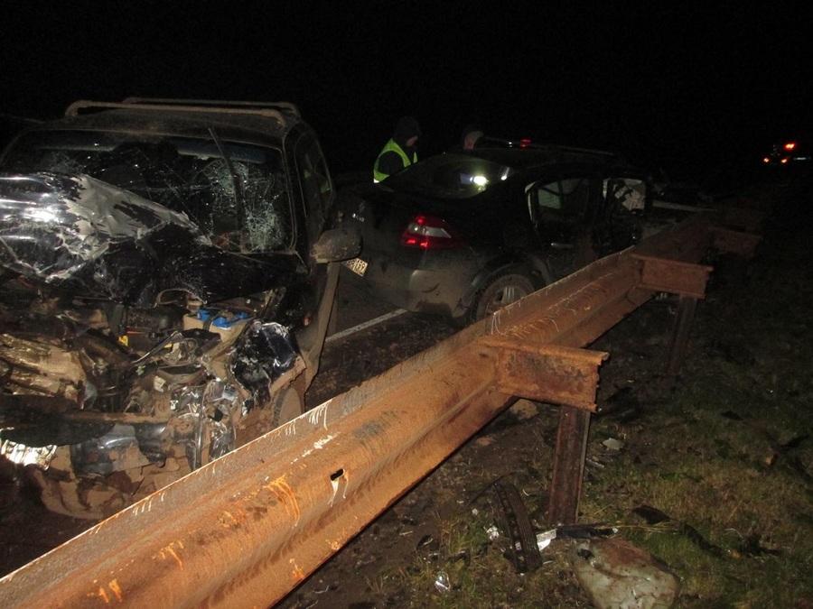 В Карагайском районе в лобовом столкновении погибли оба водителя