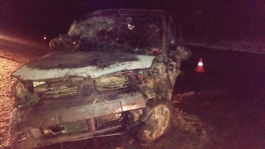 В Пермском крае в столкновении автомобилей травмированы женщина и ребенок