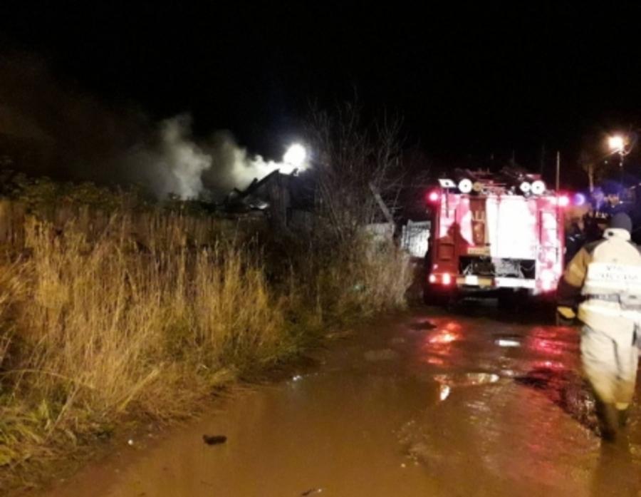В Лысьве в частном доме сгорели хозяева