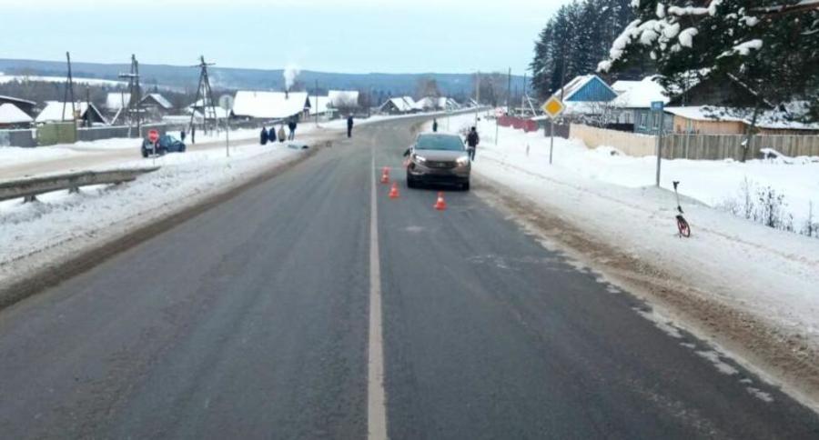 В Пермском районе пенсионерка погибла под колесами - фото 1