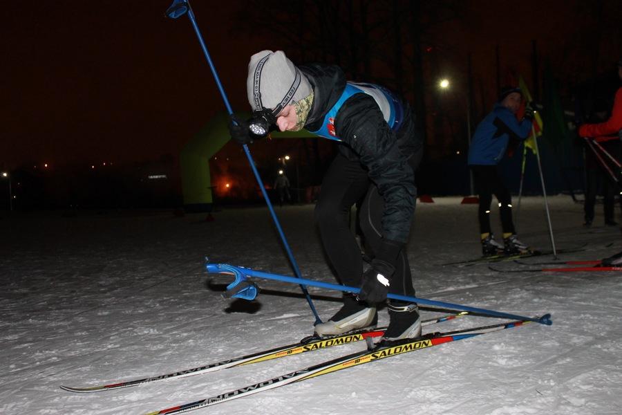 В Перми состоялась ночная лыжная гонка