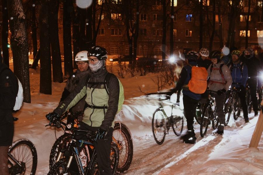 В Перми велосипедисты поддержали акцию «Час Земли»