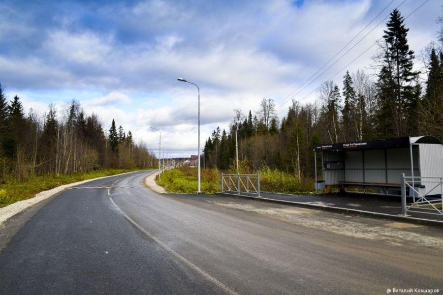 В микрорайоне Новобродовский в Перми отремонтированы дороги - фото 1