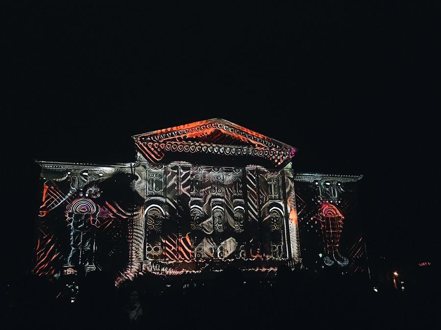 В Перми проходит фестиваль света «ПРОСВЕТ»