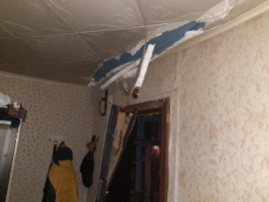 В Осинском районе взрывом газа разрушен дом