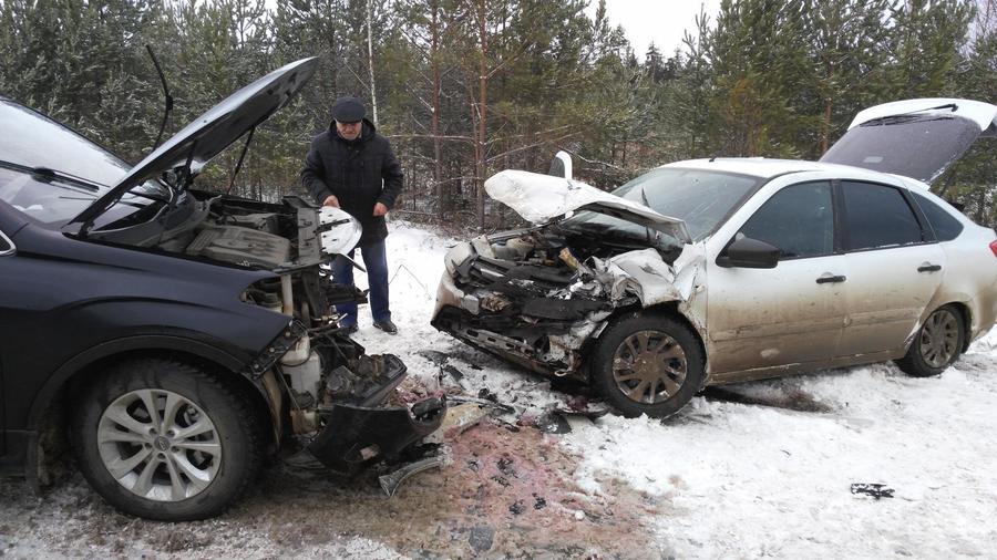 В Пермском крае в автоавариях в выходные дни пострадали пятеро детей