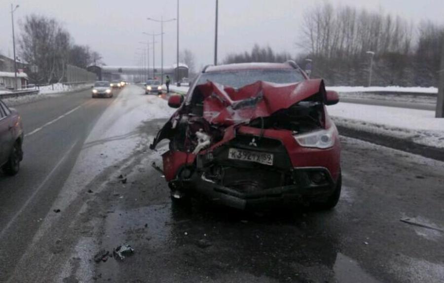 В Перми в столкновении автомобилей пострадали четыре человека