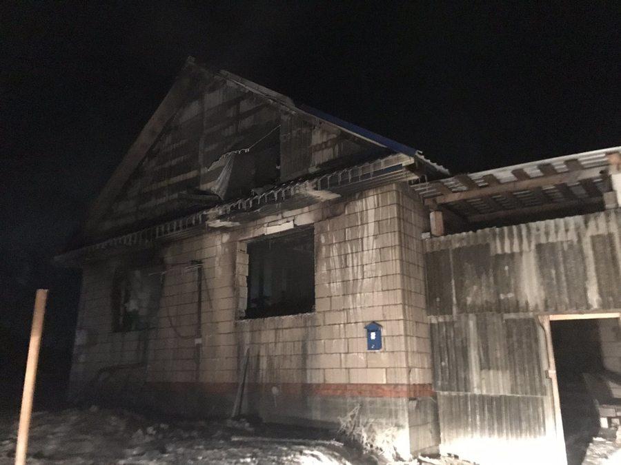 В Пермском крае на пожаре погибли двое детей - фото 1