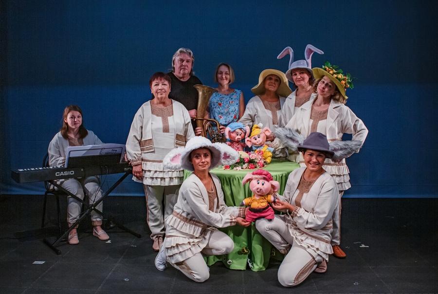 «Три поросенка» приехали в Пермский театр кукол